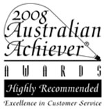 DrCeli.com.au-2008 Australian Achiever Awards-Highly Recommended